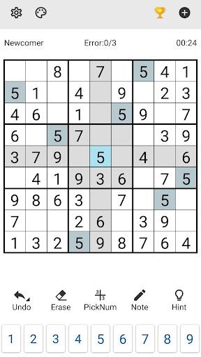 Sudoku 1.4.5 screenshots 1