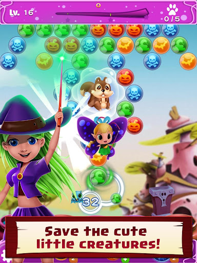 WitchLand - Bubble Shooter 2021 1.0.24 screenshots 13