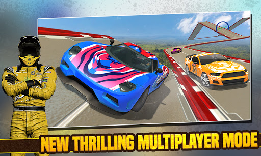 Impossible Stunt Car Tracks 3D screenshots 6
