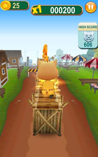 Subway Cat Runner -Online Rush  screenshots 3