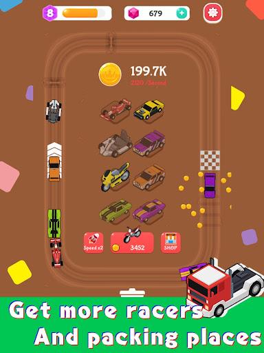 Merge Car Racer - Idle Rally Empire  screenshots 9
