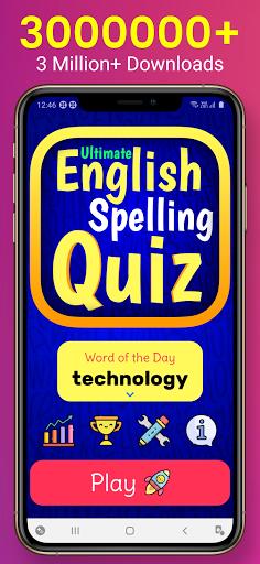 Ultimate English Spelling Quiz : English Word Game 2021.13 screenshots 1