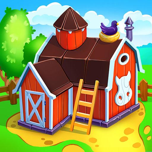 Animal Farm for Kids. Toddler games.
