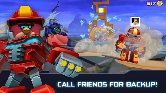 Angry Birds Transformers MOD APK [Unlimited Money/Coins/Unlocked] 3