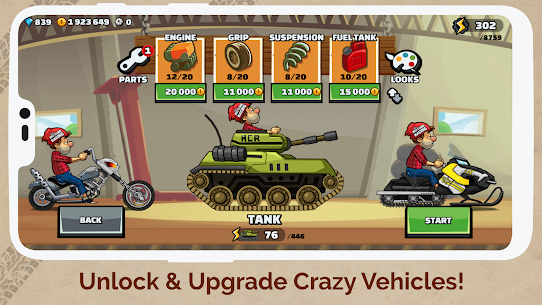 Hill Climb Racing 2 (MOD, Unlimited Money) v1.43.1 1