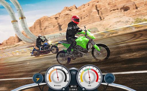 Bike Rider Mobile: Racing Duels & Highway Traffic apktram screenshots 16