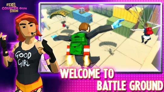 Counter Gangster City Strike: Battle Royale 2021 Hack Online (Android iOS) 4