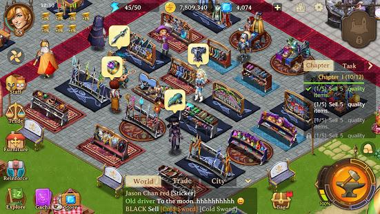 Shop Heroes Legends: Craft