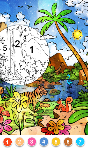 Paint By Number & Color by Number: Number Coloring 52.0 screenshots 7