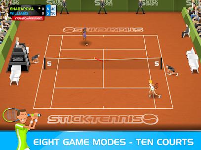 Stick Tennis MOD APK 2.9.3 (Unlocked Rackets) 8
