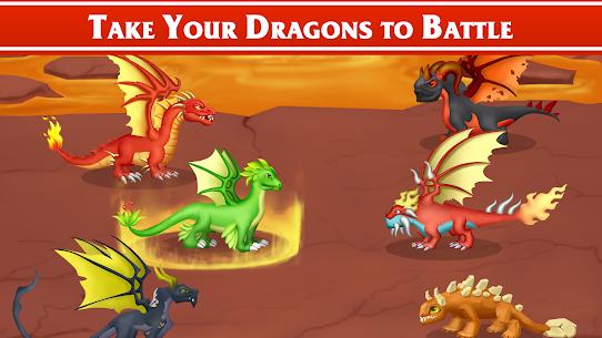 Dragon Paradise City: Breeding War Game Mod Apk 1.3.50 (Unlimited Gold/Gems/Food) 3