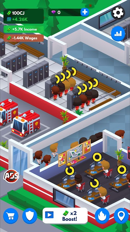Idle Firefighter Tycoon - Fire Emergency Manager  poster 15