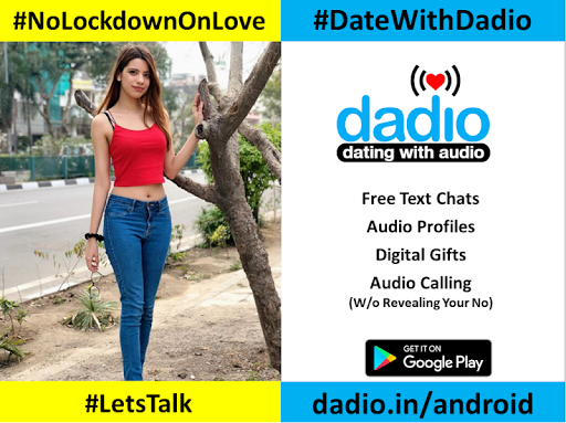 Dadio - Free Audio Dating App, No Fakes Dating App  screenshots 8