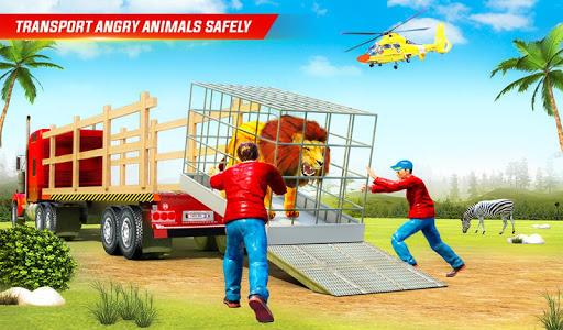 Farm Animal Transport Truck Driving Simulator 26 Screenshots 11