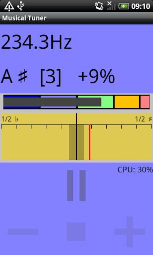 Musical Instrument Tuner screenshots 1
