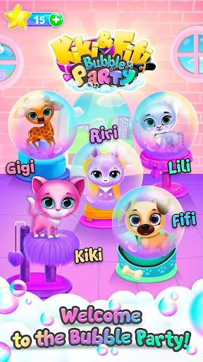 Kiki & Fifi Bubble Party - Fun with Virtual Pets  Screenshots 4