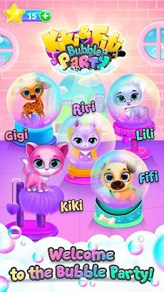 Kiki & Fifi Bubble Party - Fun with Virtual Petsのおすすめ画像4