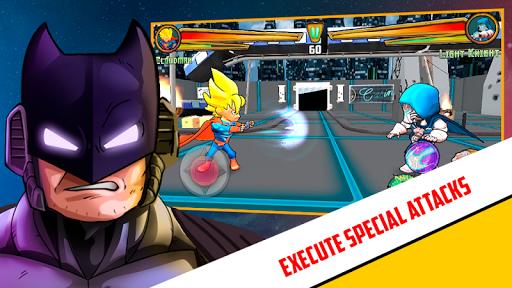 Superheroes League - Free fighting games 2.1 screenshots 2