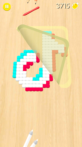 Bead Hama and Loom Pattern! Color and iron it  screenshots 4