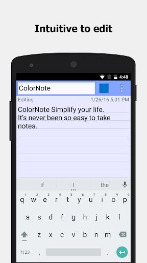 ColorNote Notepad Notes 4.2.4 Screenshots 10