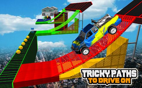 Mega Car Ramp Impossible Stunt Game 4
