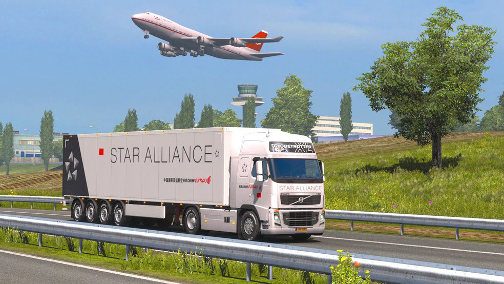 Screenshot 10 de Euro Cargo Truck Simulator 2020 : Driving Master para android