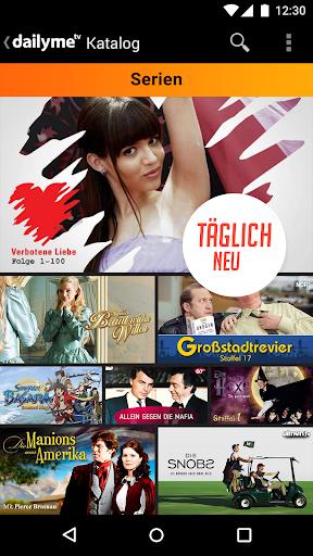 dailyme TV, Serien, Filme & Fernsehen TV Mediathek  screenshots 6