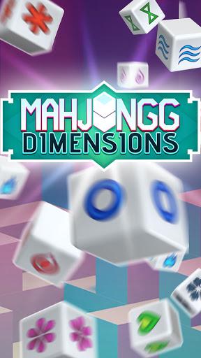 Mahjongg Dimensions: Arkadium's 3D Puzzle Mahjong apkmartins screenshots 1
