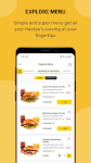 screenshot of Hardee's UAE-Order fast food online for Delivery!