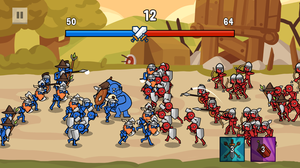 Stick Wars 2: Battle of Legions  poster 0