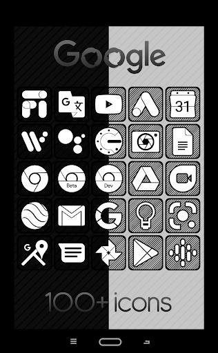Download APK: Raya Black Icon Pack – 100% Black v48.0 [Patched]