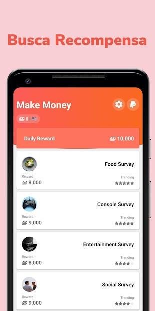 Screenshot 4 de Make Money: Recompensa y Gana Dinero Real Cash App para android