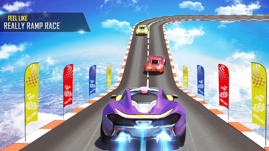 Mega Ramp Car Stunts Racing 2 screenshot 14
