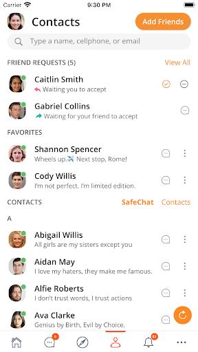 SafeChat — Secure Chat & Share poster