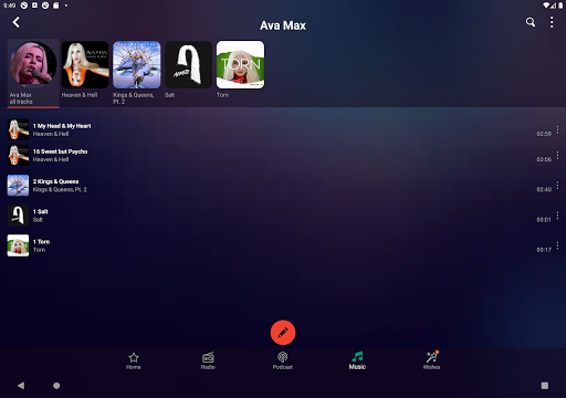 Audials Play u2013 Radio Player, Recorder & Podcasts 9.3.8-0-g714ebeffb Screenshots 11