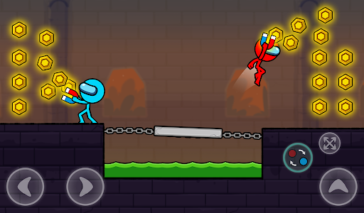 Red and Blue Stickman : Season 2 android2mod screenshots 16