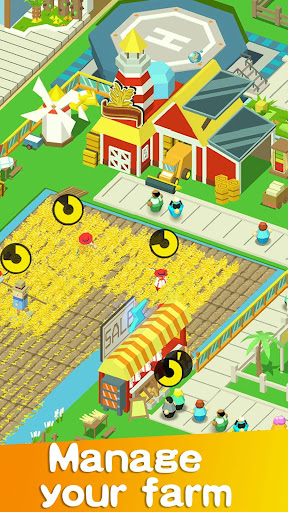 Idle Farm Tycoon - Cash Empire  screenshots 1