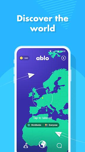 Ablo - Make friends worldwide Apkfinish screenshots 4