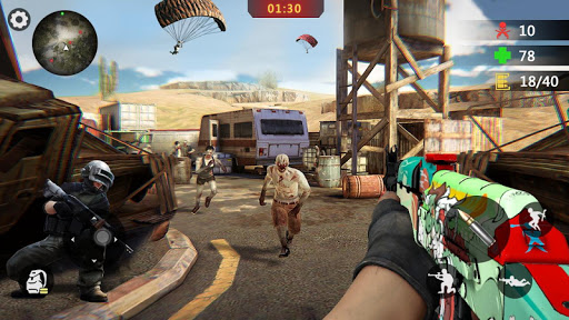 Zombie Trigger: Survival Shooting Games-Sniper FPS 1.2.5 screenshots 4
