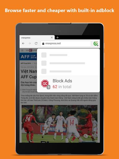 Cu1ed1c Cu1ed1c Browser - Browse web fast & secured 89.0.244 Screenshots 15