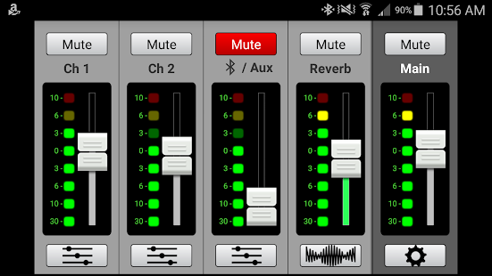 Mackie Connect Screenshot