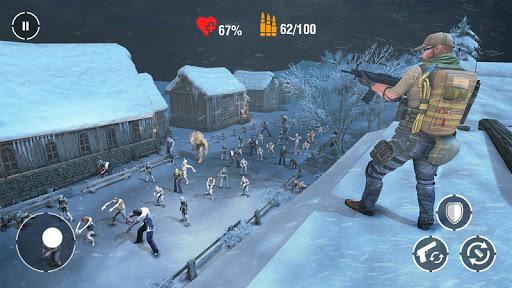 Call of Zombie Frontier: jeu de tir de zombies APK MOD (Astuce) screenshots 5