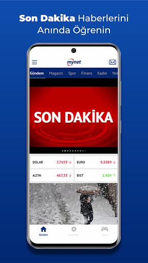 Mynet Haber - Son Dakika Haberler 4.42 Screenshots 1