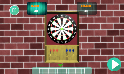 The Darts Game Super Dart 3D Screenshot