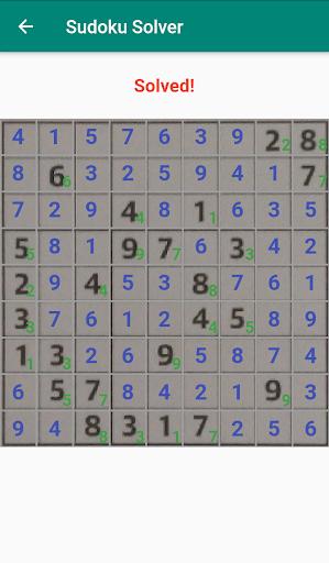 Sudoku Solver - Scanner app using camera goodtube screenshots 7