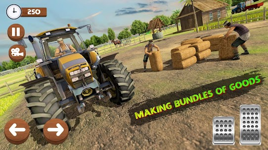 Real Tractor Farming Game 2020 Apk 5