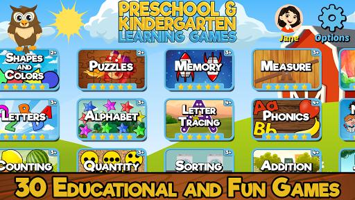 Preschool and Kindergarten Learning Games 6.5 screenshots 6