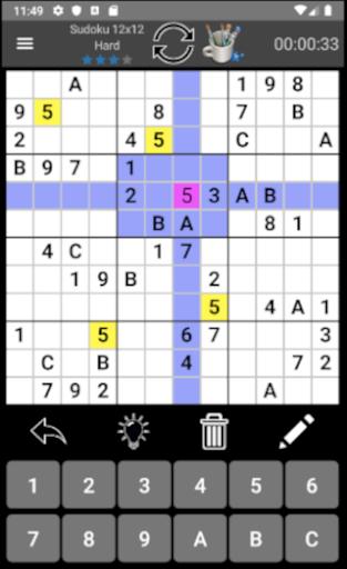 Classic Sudoku PRO(No Ads)  screenshots 2