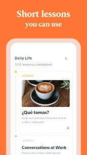Babbel MOD APK – Learn Languages – Spanish, French & More [Premium Subscription] 3