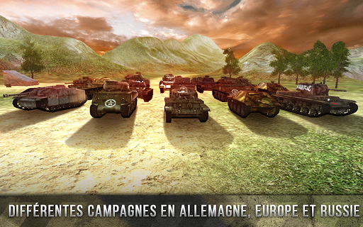 Tank Battle 3D: World War II APK MOD – Pièces Illimitées (Astuce) screenshots hack proof 2